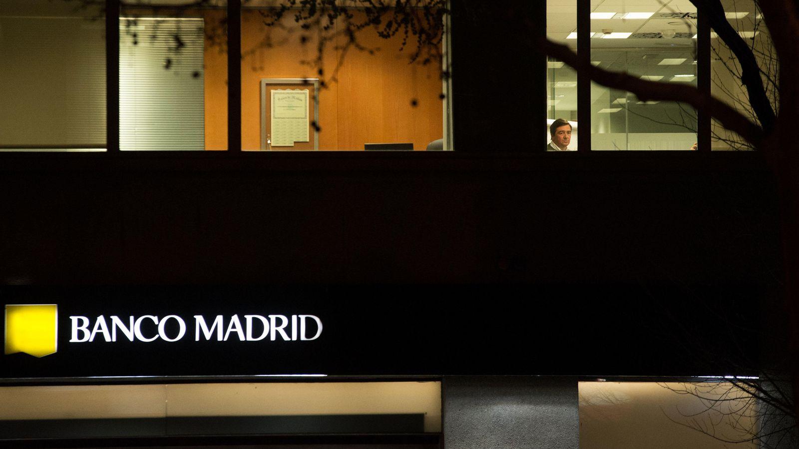 Foto: Imagen de las oficinas de Banco Madrid (Imagen: Pablo López Learte)