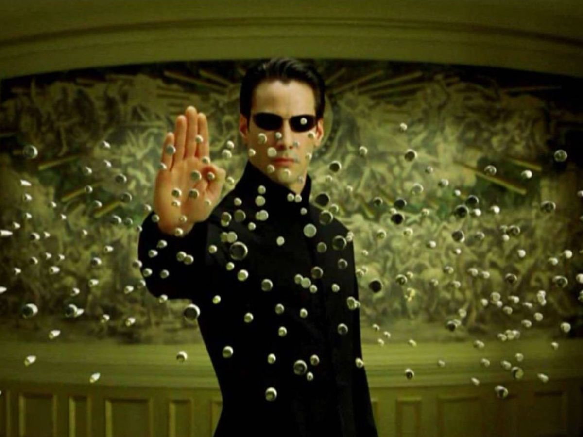 Foto: Neo en The Matrix