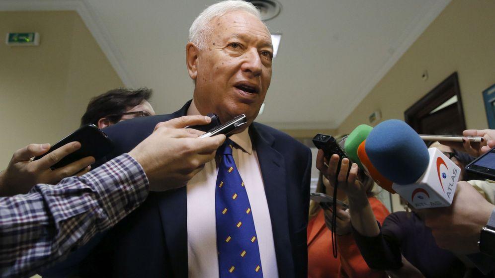 Foto: El exministro de Exteriores Jose Manuel García-Margallo. (EFE)