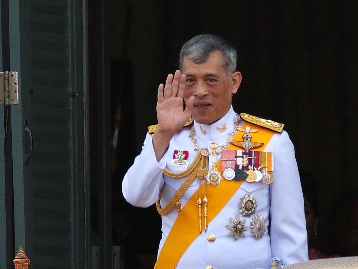 Foto: El rey de Tailandia, Maha Vajiralongkorn. (EFE)