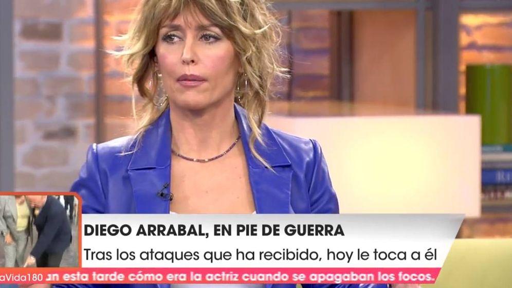 Foto: Emma García, en 'Viva la vida'. (Telecinco)