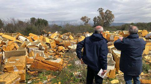 Los vertederos ilegales de Roma que nadie sabe cómo erradicar