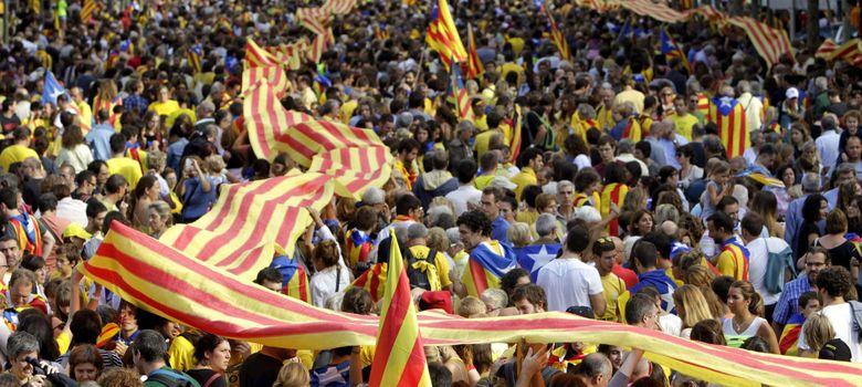 Foto: Cadena humana por la independencia