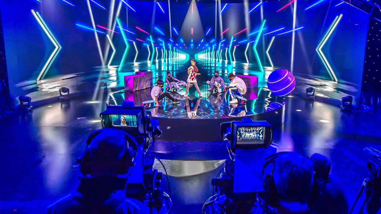 Grabación de la actuación de Soleá. (Raúl Tejedor/TVE)