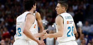 Post de El Madrid, tardón, da el primer golpe al Gran Canaria en las semis de la ACB
