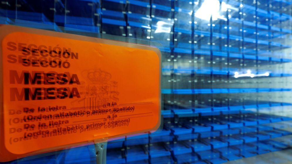 Foto: Imagen de las urnas que se utilizaron el 28 de abril. (Efe)