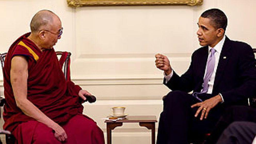 Obama desoye las críticas de China y recibe al Dalai Lama