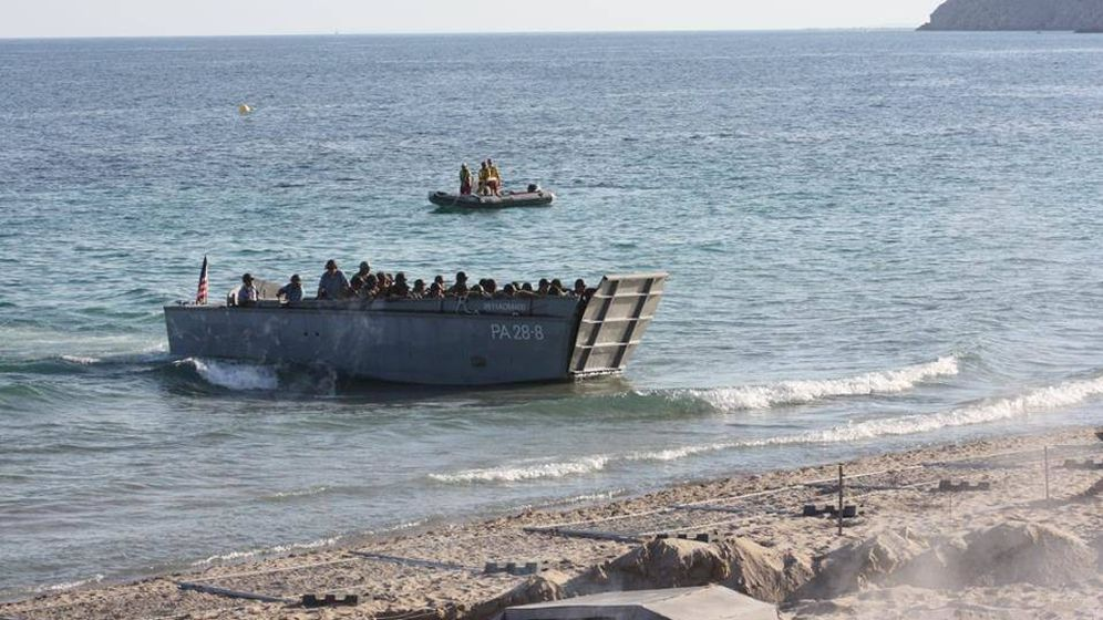 Foto: Recreación del Desembarco de Normandía en Benidorm | Codex Belix
