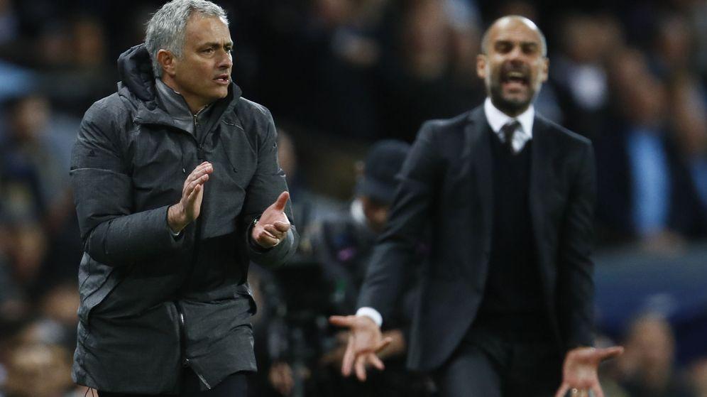 Foto: Pep Guardiola y José Mourinho, en una imagen de archivo. (Reuters)