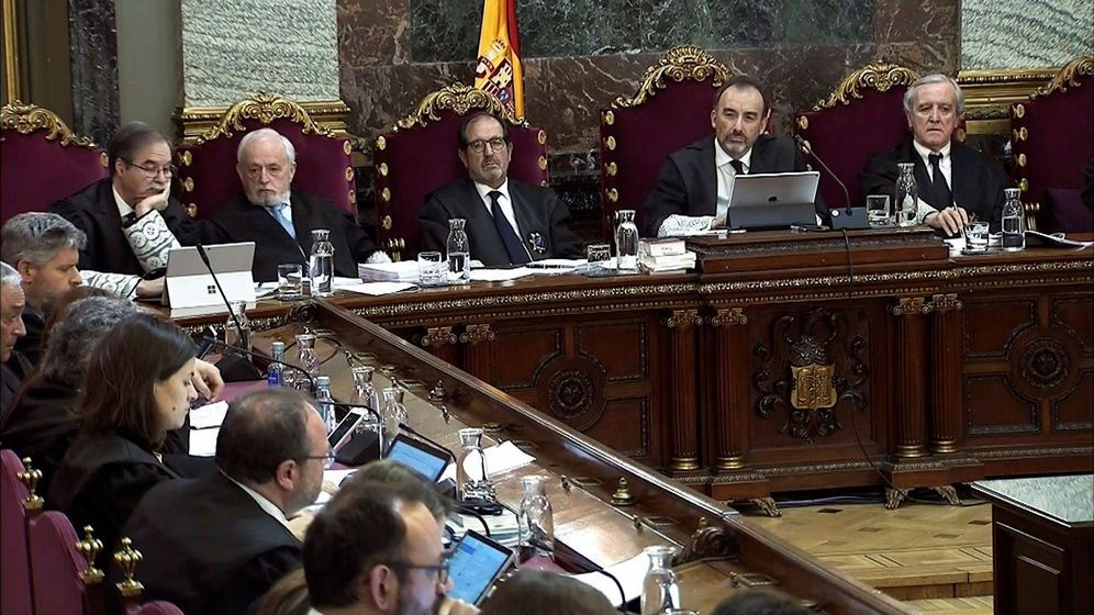 Foto: Captura de la señal institucional del Tribunal Supremo. (EFE)