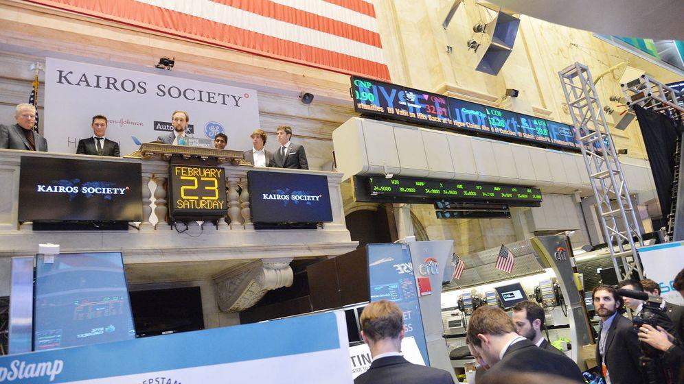Foto: Exponiendo los 50 mejores proyectos en la Bolsa de Nueva York. (Kairos Society)