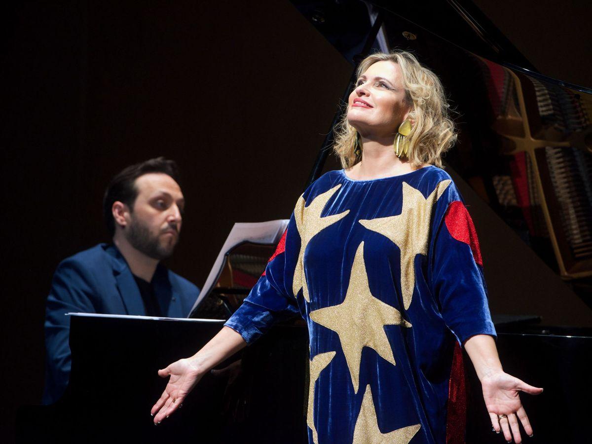 Foto: Ainhoa Arteta, en una actuación. (EFE)