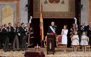 Felipe VI inaugura en España el constitucionalismo monárquico