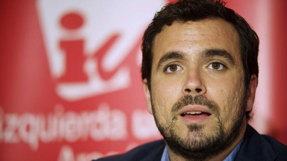 Foto: El candidato de Izquierda Unida (IU) a la Presidencia del Gobierno de España, Alberto Garzón (EFE)