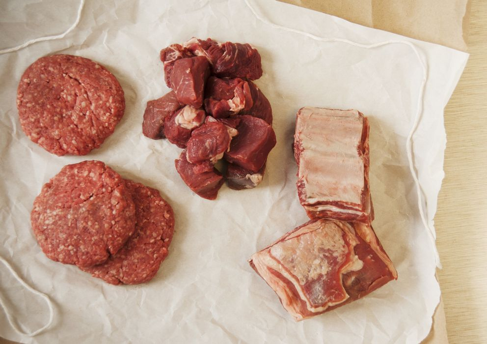 Foto: La carne lleva en nuestra dieta desde antes de ser humanos. (Corbis)