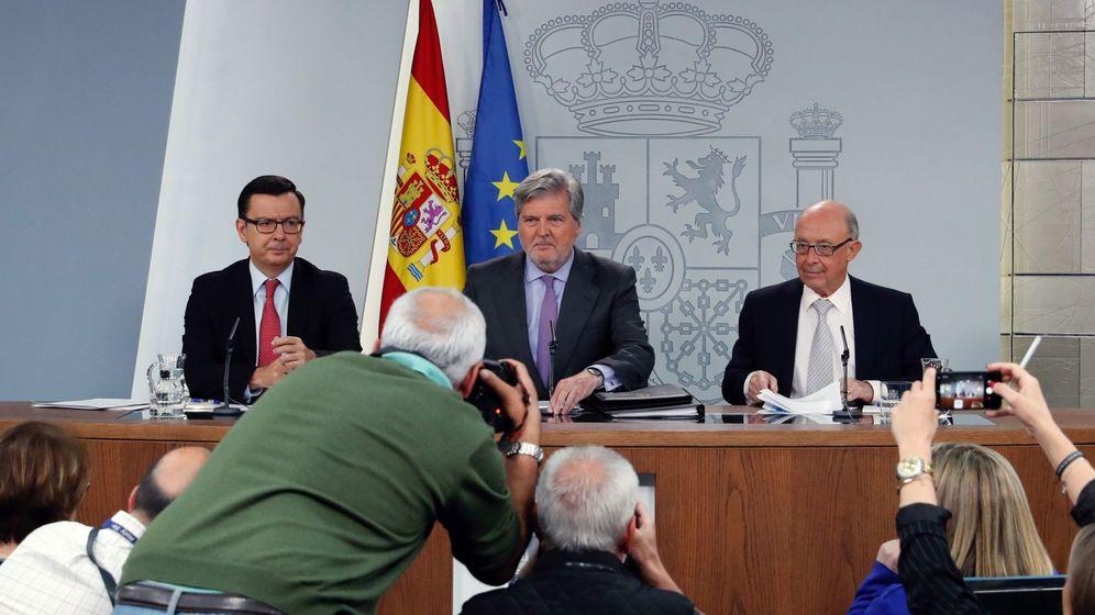 Foto: Rueda prensa tras una reunión del Consejo de Ministros. (EFE)