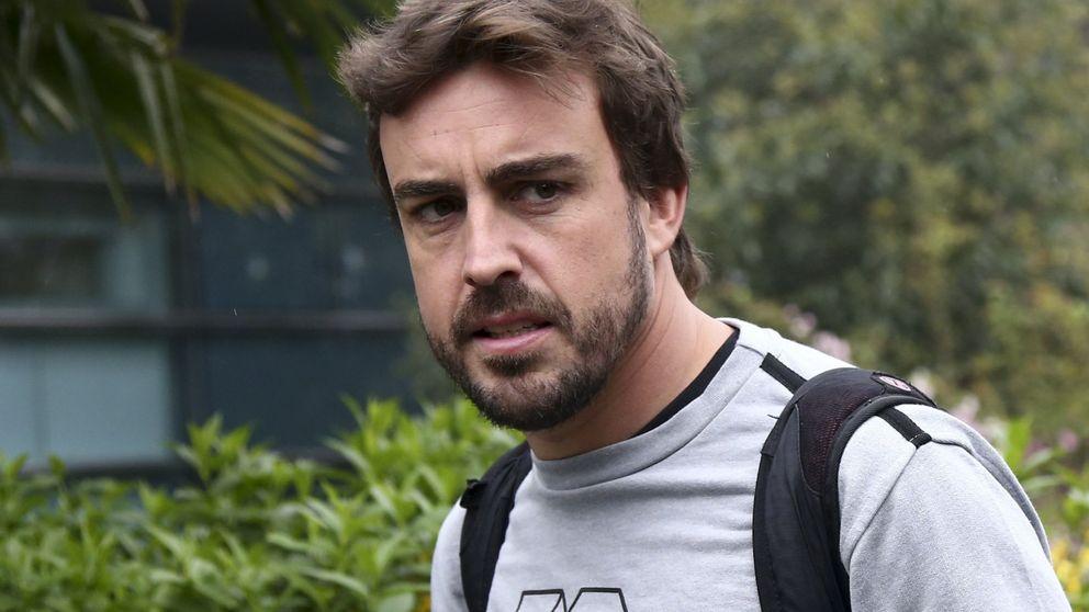 Alonso intenta traducir este McLaren: Es difícil, es bastante duro de pilotar