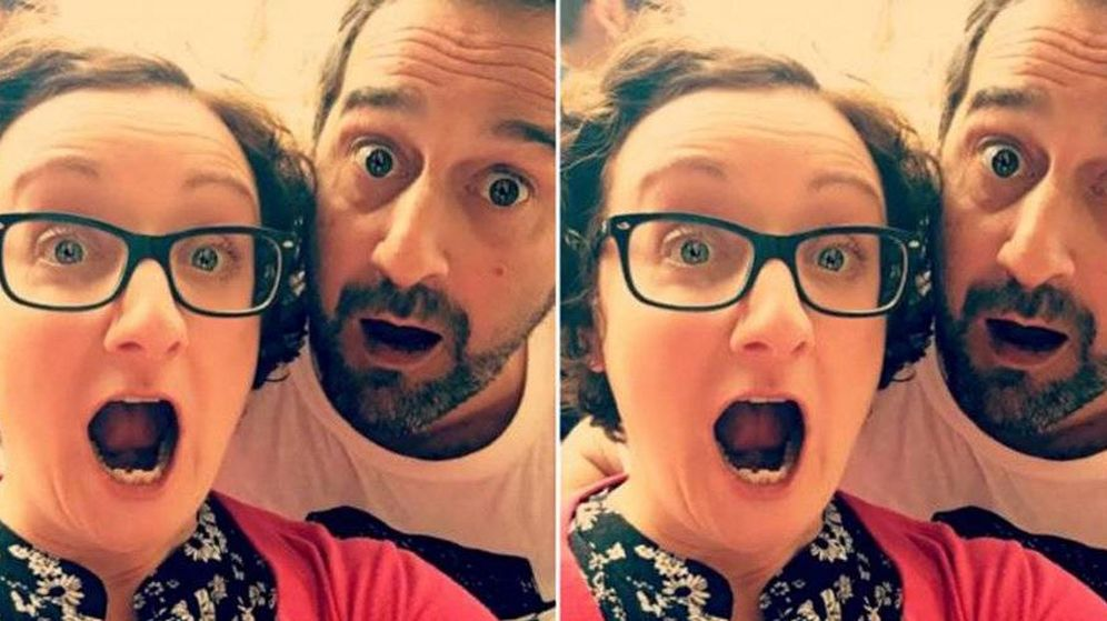 Foto: Amanda Chatel y su ex. (Instagram)