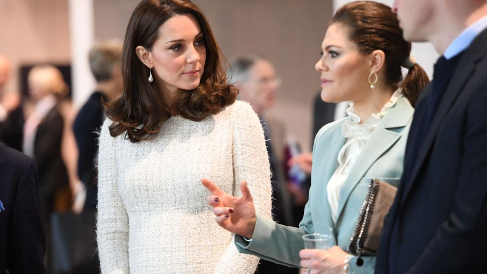 Lo que Kate Middleton aprendió de Victoria de Suecia