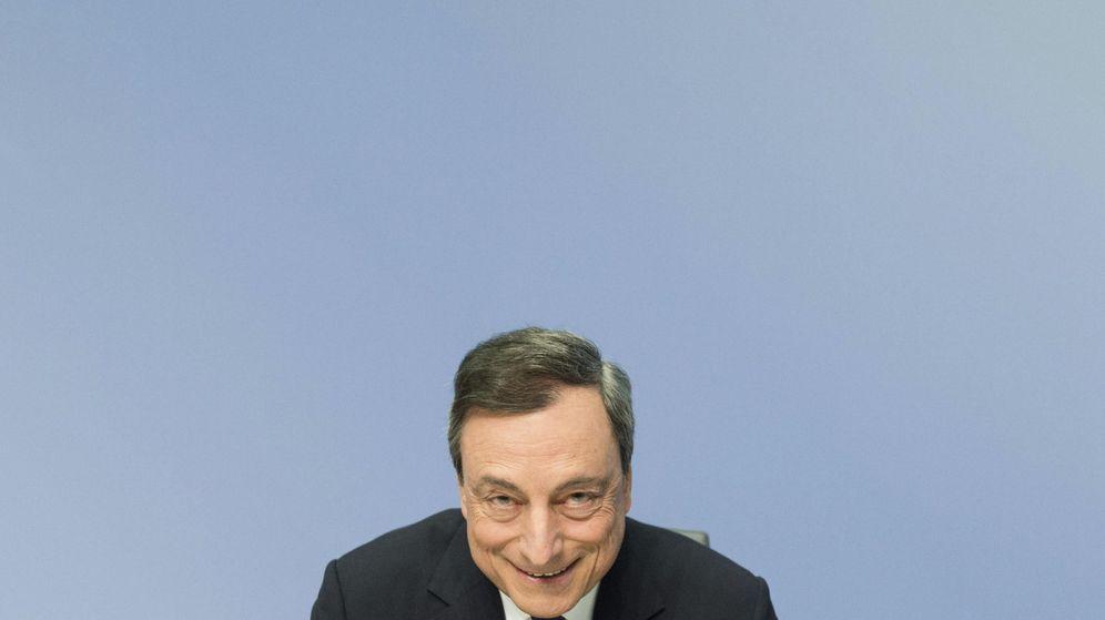 Foto: Mario Draghi, presidente del Banco Central Europeo (BCE) en una imagen de archivo (EFE)
