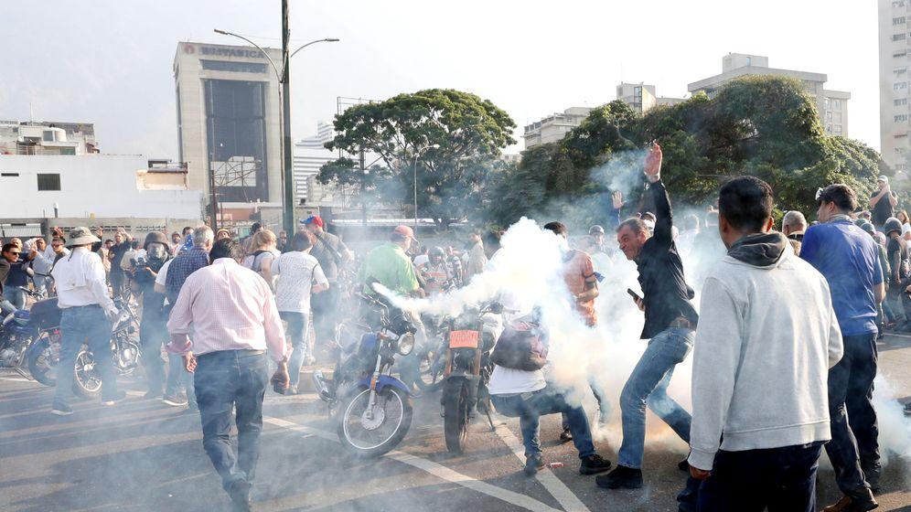 Foto: Disturbios en las calles de Caracas, Venezuela. (Reuters)