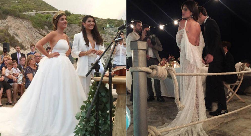 la romántica boda de dulceida (quiero ser) y su novia junto al mar
