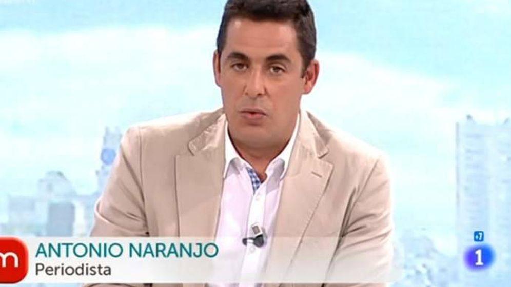 Foto: El tertuliano de 'La mañana de la 1', Antonio Naranjo.