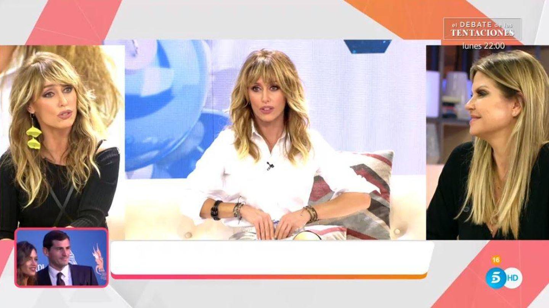 Emma García, en 'Viva la vida'. (Mediaset España)