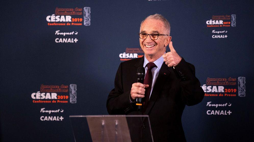 Foto: Alain Terzian, presidente de la Academia de la Academia de las Artes Técnicas y el Cine francés. (EFE)
