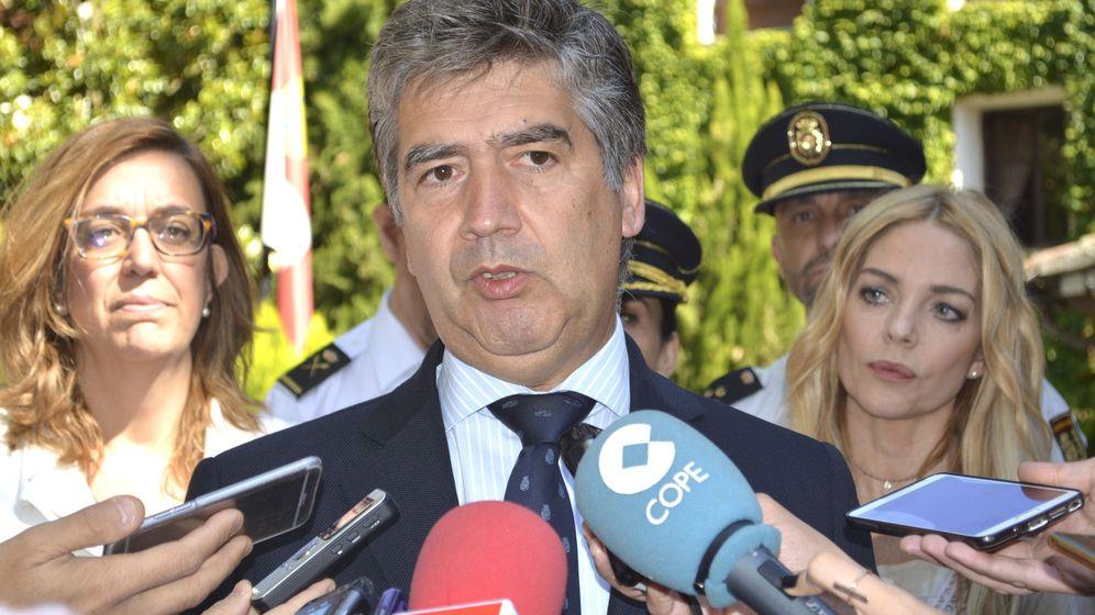 Foto: El portavoz del PP en el Senado, Ignacio Cosidó. (EFE)