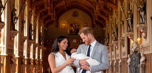 Post de El príncipe Harry y Meghan Markle posan por primera vez con Baby Sussex