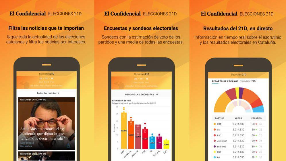 Foto: No te pierdas detalle de las cruciales elecciones catalanas con la 'app' de El Confidencial.