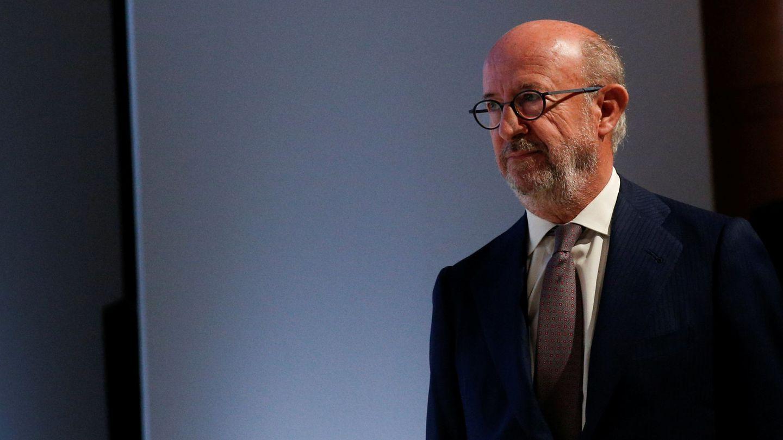 El presidente del Popular, Emilio Saracho. (Reuters)