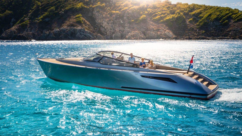 El Wajer 55 que los reyes holandeses compraron en verano. (Wajer Yachts)