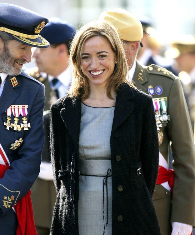 Foto: Carme Chacón en una imagen de archivo. (Gtres)
