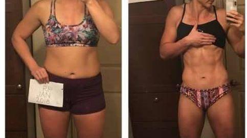 Esta mujer adelgazó 10 kilos y no podrás creerte el resultado