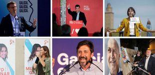 Post de De Feijóo a Pontón: estos son los candidatos a las elecciones gallegas 2020