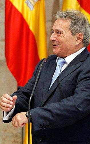 Foto: Alfonso Rus: presidente, alcalde, diputado y aspirante a dirigir el Valencia