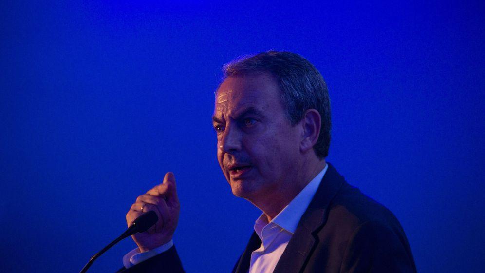 Foto: El expresidente Zapatero en una conferencia en República Dominicana. (EFE)