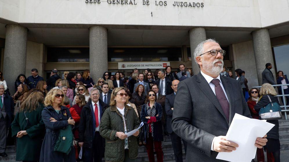 Foto: Imagen de archivo del juez decano de Madrid, Antonio Viejo. (EFE)
