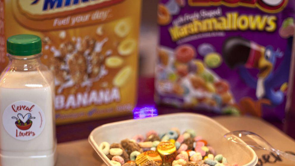 Nostalgia en el tazón: nueva tienda de cereales para hipsters en Madrid