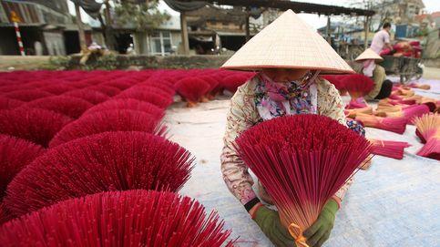 Fabricación de incienso en Vietnam
