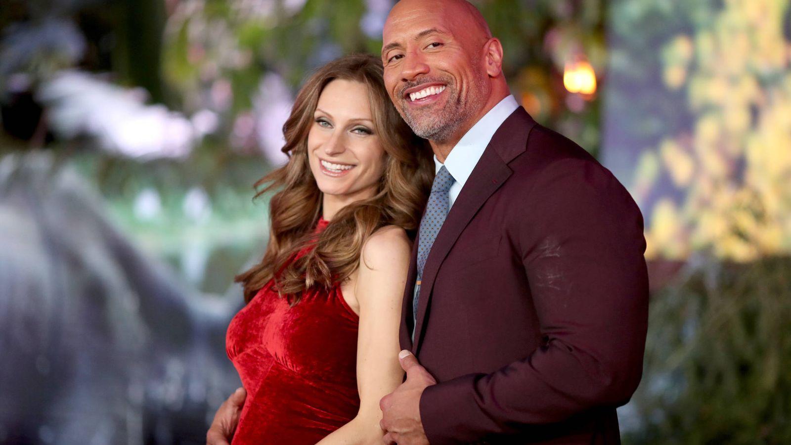 Foto:  Lauren y Dwayne, recién casados. (Getty)
