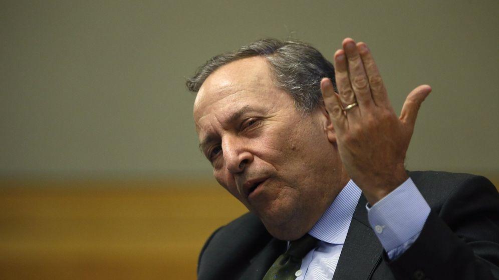 Foto: El nuevo presidente del Consejo Asesor Internacional de Banco Santander, Larry Summers./REUTERS