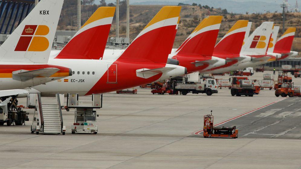 Foto: Aviones Iberia. (Reuters)