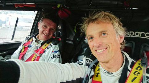 Calleja, el orgullo de correr el Dakar con un catalán y trabajar en equipo