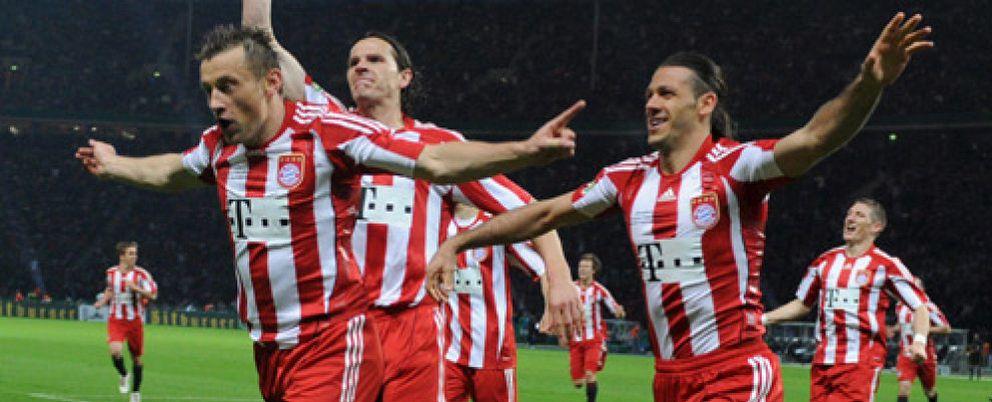El Bayern logra el 'doblete' con una exhibición de fútbol