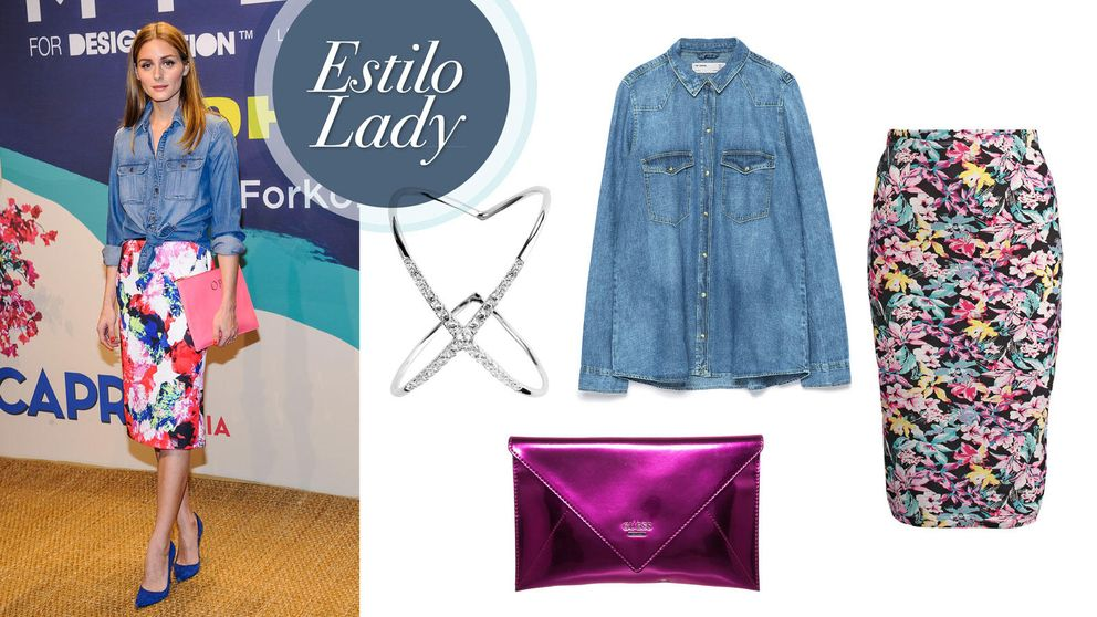 Camisa vaquera: ¿cómo se lleva? Olivia Palermo y Rihanna te dan las claves