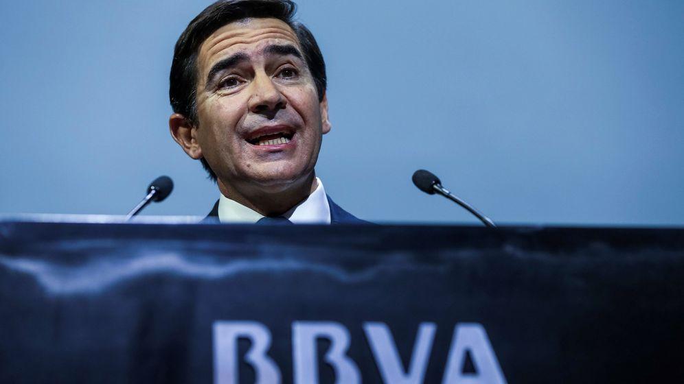Foto: Carlos Torres, presidente de BBVA, en la presentación de resultados de 2018. (EFE)