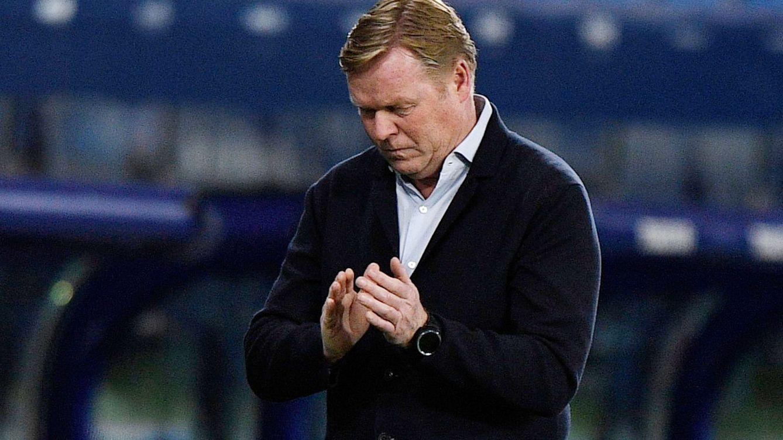 El Barcelona se empeña en perder la Liga y Koeman solo puede mirar horrorizado